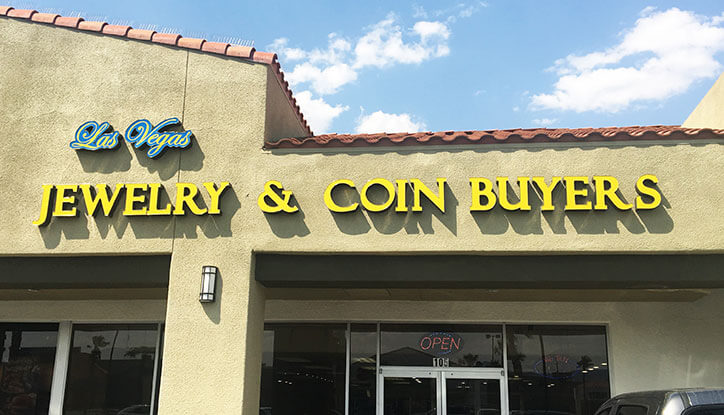 Las Vegas Jewelry and Coin Buyers Storefront