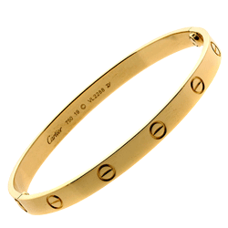 Gold Carier Branded Fashion Band