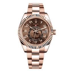 Rose Gold Flex Band Rolex Watch